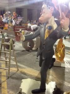 Il presidente della Catalogna, che si rivolge a Madrid...
